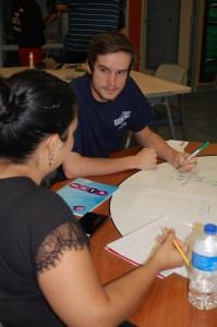 Math tutor, Joshua Keese Priscilla Rodriguez - Physical Therapy Major