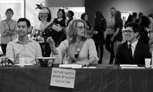 judges arguing
