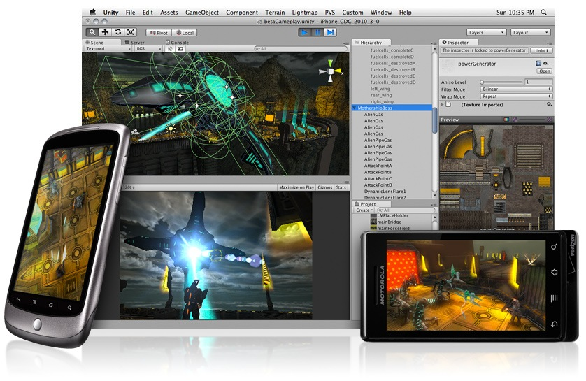 Unity 3D lets gamers create – THE FOGHORN NEWS