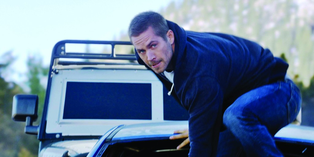 """Furious 7"" makes the final appearance of Paul Walker, who passed away in 2013 in a car accident. About 85 percent of his scenes were finished before his death. His brothers helped film the remainder of his scenes."