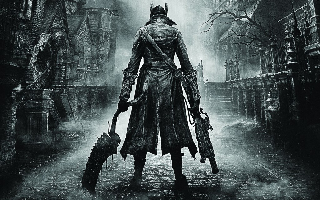 "A player's hunter stands read to face the terrors that fill ""Bloodborne."" Both male and female hunters can be created and customized in many ways."