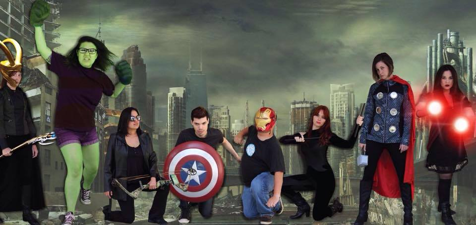 The Foghorn staff  put on their cosplay to dress like their favorite Avenger in honor of the new summer hit.