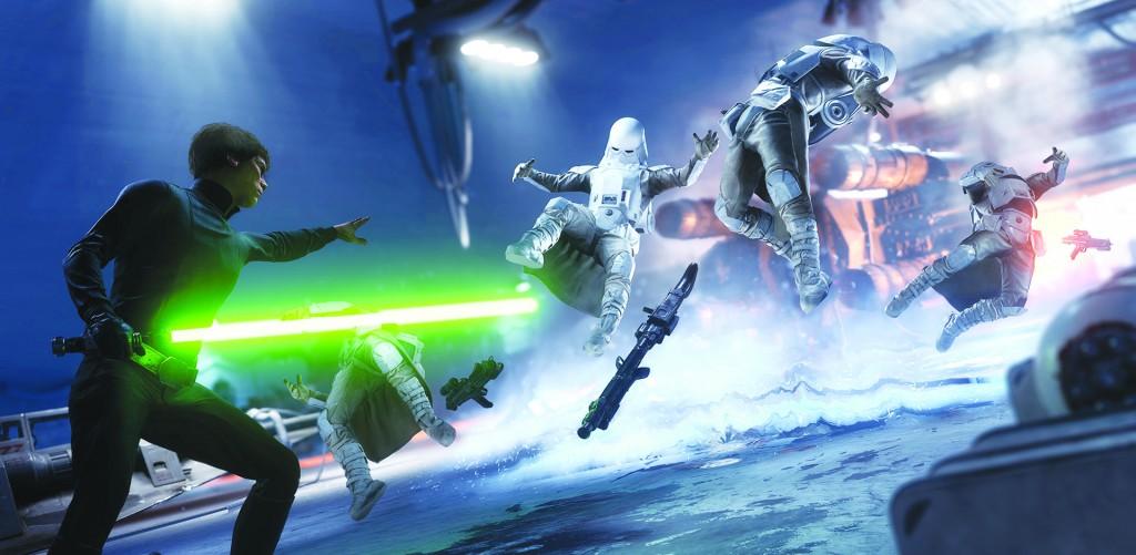 Star Wars Luke Skywalker CMYK