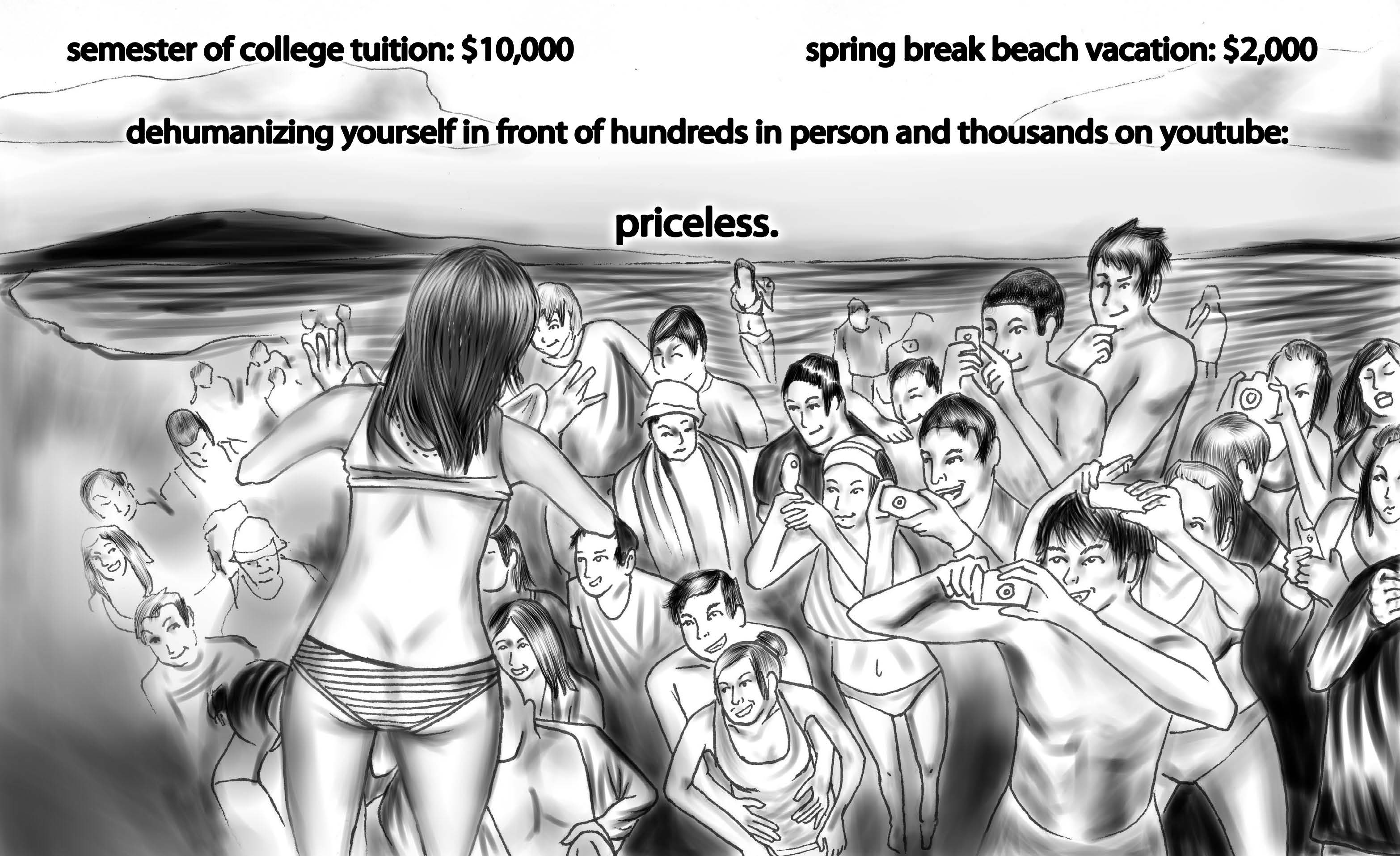 Spring Break Toon
