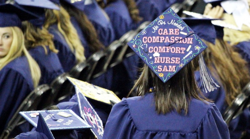 Students graduate, one step closer to their dream