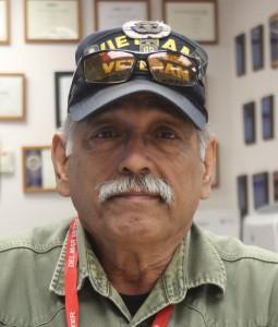 Vietnam veteran Tony Hartwell-Garza