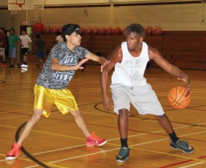 Eight teams signed p for the double-elimination basketball tournament, held Nov. 8-16 in the gym on East Campus.