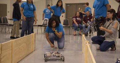 Youths spend summer building robots