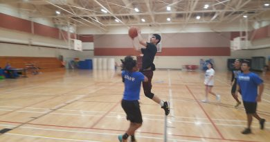 Saturday basketball tourney intense