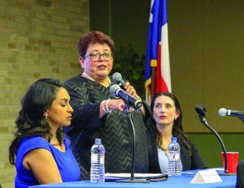 Women politicians share pride