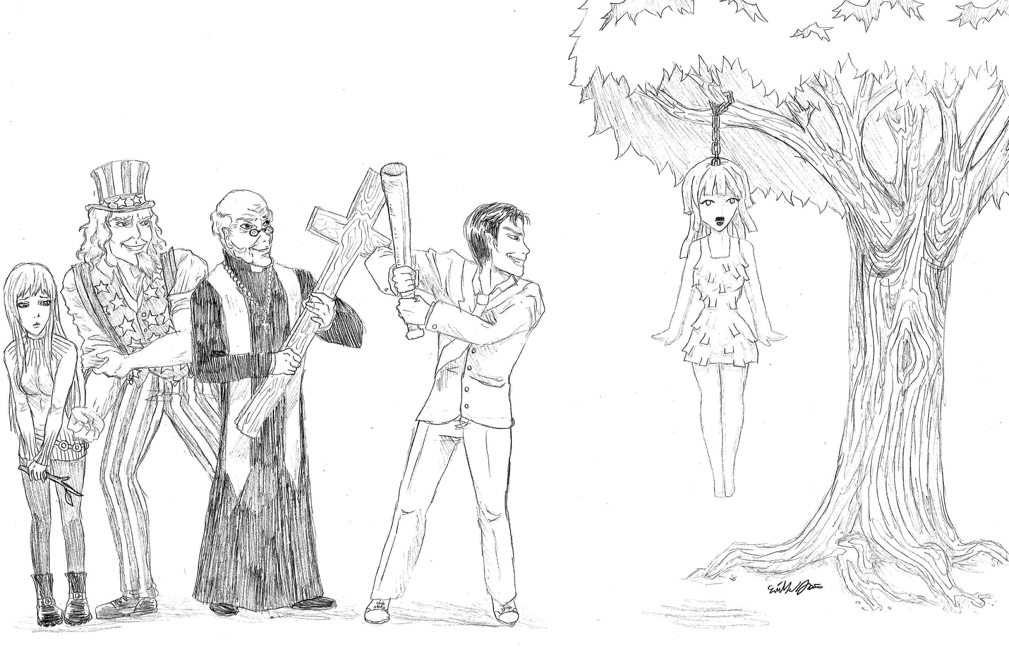 OpedWomanCartoon