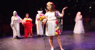 Drama students take fall show online