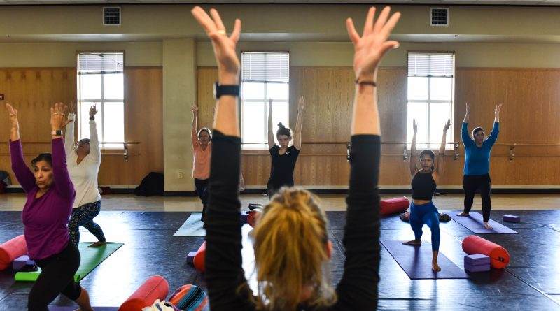 Intramurals returns with virtual events, in-person yoga